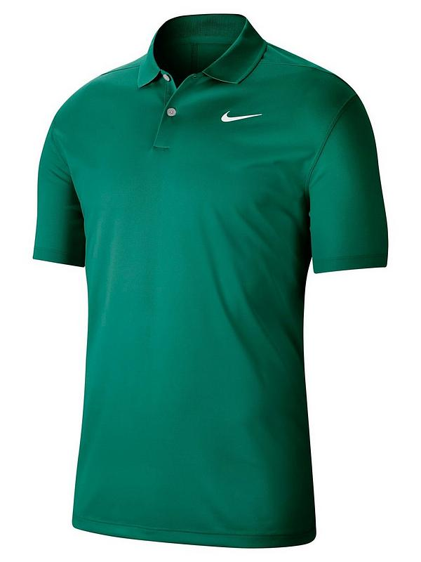 superficie posponer En particular  Nike Golf Dry Victory Solid Polo - Green | very.co.uk