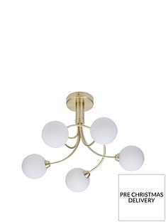 arlington-swirl-5-light-ceiling-light