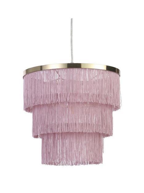 michelle-keegan-home-tulsa-fringe-easy-fit-lightshade
