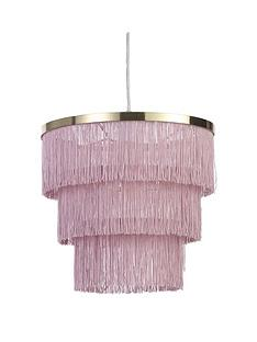 michelle-keegan-home-tulsa-fringe-easy-fit-lightshade
