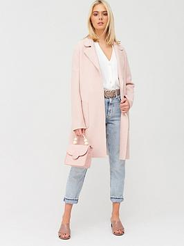 oasis-boiled-wool-unlined-coat-pale-pink