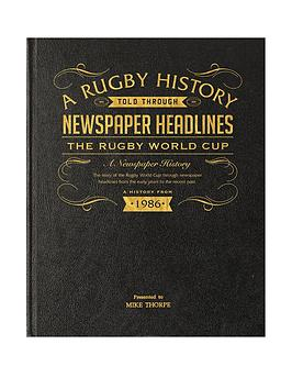 a3-rugby-world-cup-history-newspaper-headlines-leather-black-cover