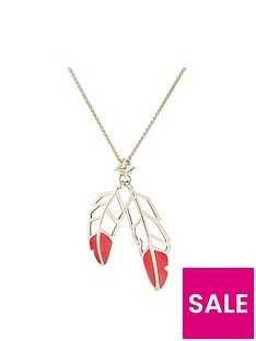 all-we-are-feather-drop-pendant