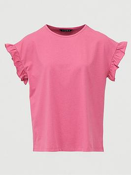 v-by-very-ruffle-sleeve-t-shirt-raspberry