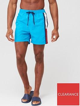 tommy-hilfiger-side-flag-swimshort-azure