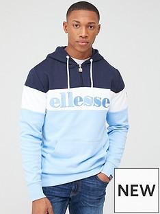 ellesse-secora-overhead-hoodie-light-blue