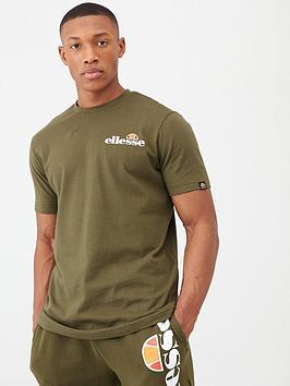 ellesse-voodoo-embroidered-logo-t-shirt-khaki