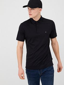 calvin-klein-jeans-soft-interlock-polo-shirt-black