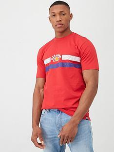 ellesse-lori-t-shirt-red