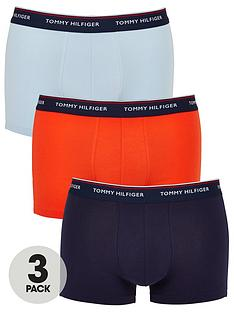 tommy-hilfiger-3-pack-trunks-navyorangeblue