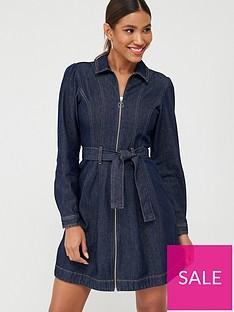 v-by-very-zip-through-denim-dress-indigo