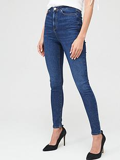 v-by-very-charley-high-waist-5-pocket-jegging-dark-wash