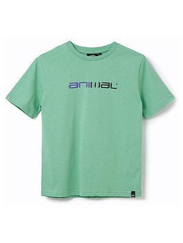 animal-boys-sketchy-short-sleeve-t-shirt-green
