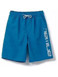 animal-boys-tannar-logo-swim-shorts-blue