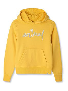 animal-girls-rachelle-hoodie-yellow