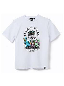 animal-boys-get-rad-graphic-short-sleeve-t-shirt-white