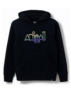 animal-boys-ryder-logo-hoodie-black