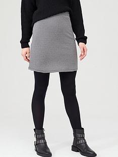 v-by-very-houndstooth-jacquard-mini-skirt-blackwhite