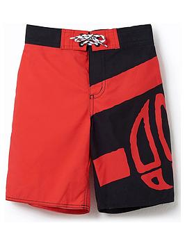 animal-boys-layka-logo-swim-shorts-blackred