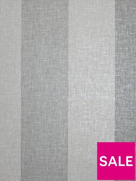 arthouse-linen-stripe-grey-wallpaper