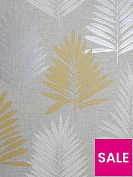 arthouse-linen-palm-wallpaper