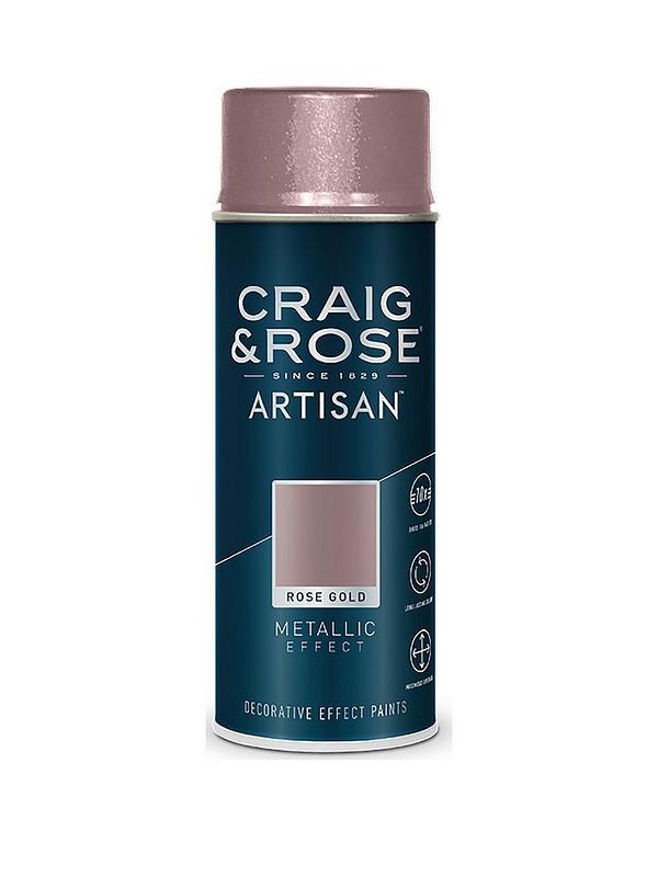 Craig Rose Artisan Rose Gold Metallic Effect Spray Paint Very Co Uk