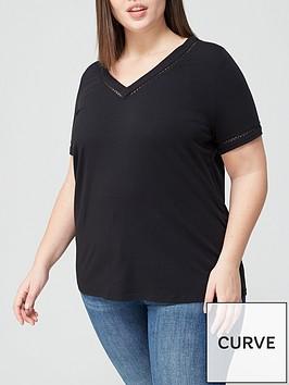 v-by-very-curve-insert-v-neck-t-shirt-black