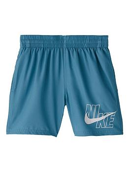 nike-boys-4-inch-logo-solid-volley-shorts-green