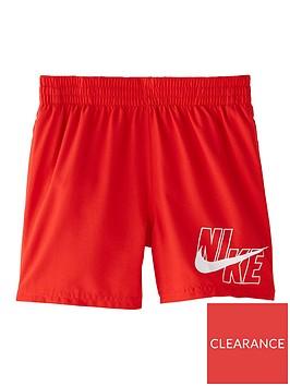 nike-boys-4-inch-logo-solid-volley-swim-shorts-red
