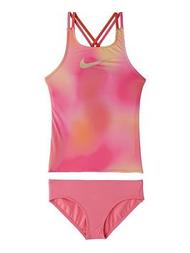 nike-girls-spiderback-tankini-set-pink