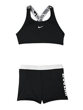 nike-girls-2-piece-crossback-sport-bikini-and-shorts-set-black
