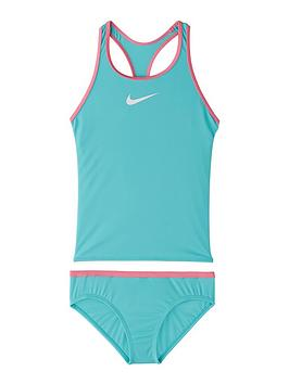 nike-girls-racerback-tankini-swim-set-green