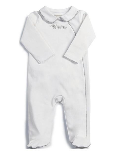 mamas-papas-unisex-collar-sleepsuit-white