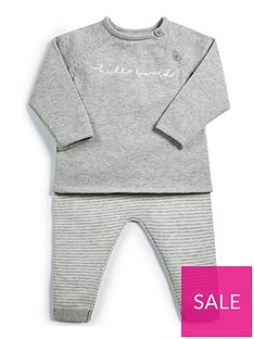mamas-papas-unisex-hello-world-top-and-leggingnbspset-grey