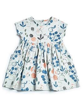 mamas-papas-baby-girls-floral-jersey-dress-grey