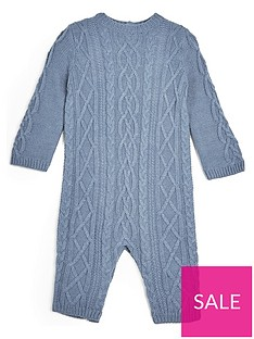 mamas-papas-baby-boys-knitted-sleepsuit-blue