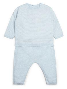 mamas-papas-baby-boys-hello-world-2-piece-set-blue