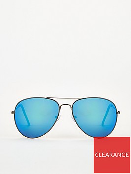 very-man-blue-mirror-lens-aviator-sunglasses-blue