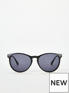 v-by-very-black-round-wayfarer-sunglasses
