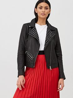 hugo-studded-leather-jacket-blacknbsp