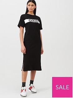 hugo-printed-block-dress-black