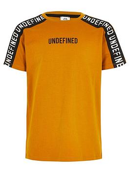 river-island-boys-undefined-taped-tshirt-ochre