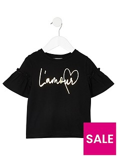 river-island-mini-girls-l-amour-flute-sleeve-t-shirt-blacknbsp