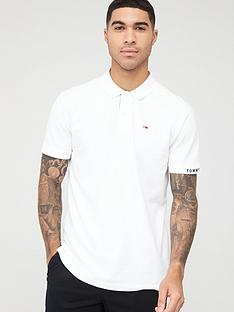tommy-jeans-branded-rib-polo-shirt-white