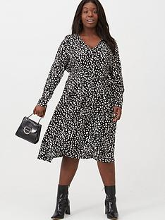 v-by-very-curve-button-through-midi-dress-animal