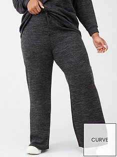 v-by-very-curve-wide-leg-rib-trousers-grey-marl