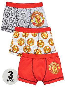 manchester-united-boys-3-pack-trunks-red