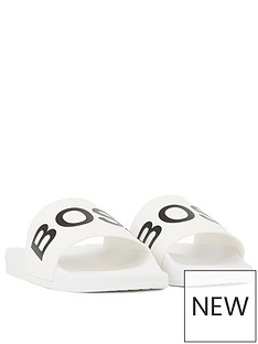 hugo-boss-logo-sliders-white