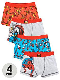 marvel-boys-4-pack-trunks-multi