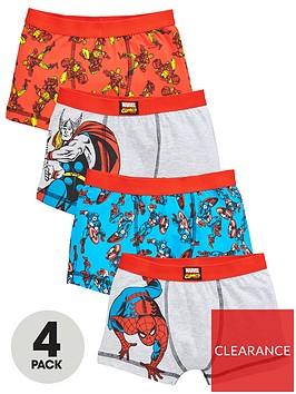 marvel-boys-4-pack-trunks-multi